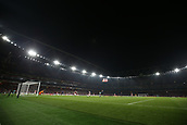 2nd November 2017, Emirates Stadium, London, England; UEFA Europa League group stage, Arsenal versus Red Star Belgrade; General view of inside the Emirates Stadium during the 1st half as Red Star Belgrade attacking