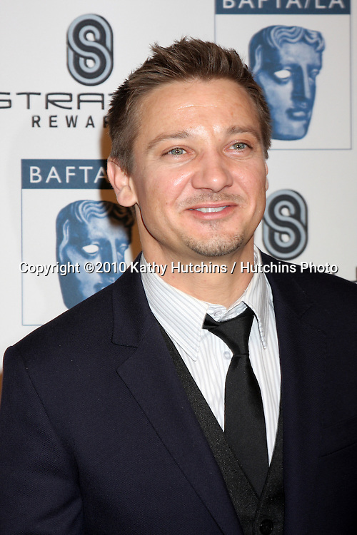 Jeremy Renner.arriving at the BAFTA/LA Awards Season Tea Party 2010.Beverly Hills Hotel.Beverly Hills, CA.January 16, 2010.©2010 Kathy Hutchins / Hutchins Photo....