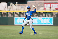 Kansas City Royals second baseman DJ Burt (26) during an Instructional League game against the Arizona Diamondbacks at Chase Field on October 14, 2017 in Scottsdale, Arizona. (Zachary Lucy/Four Seam Images)