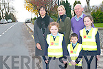 Kilcummin Parish Council and Kilcummin National School are both calling for further safety measures to be installed on the main road into the village for the safety of the whole community. <br /> Front L-R Helena O'Sullivan, Liam and Roisin Breen <br /> Back L-R Philomena Breen (secretary of the parents association),  principal of Kilcummin NS, Gillian Sheehan and Eamon Fitzgerald (chairman of the Board of Management and of Kilcummin parish council.