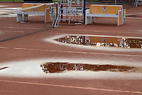 13-08-11, Tennis, Hillegom, Nationale Jeugd Kampioenschappen, NJK, Regen, plassen