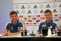 02.09.2015: Pressekonferenz der Nationalmannschaft