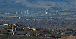 Spanish Springs valley, Sparks,  Nevada on January 16, 2015