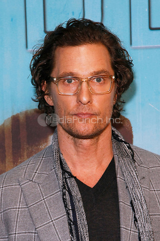 Los Angeles, CA - JAN 10:  Matthew MConaughey attends the HBO premiere of True Detective Season 3 at the DGA Theater on January 10 2019 in Los Angeles CA. Credit: CraSH/imageSPACE/MediaPunch
