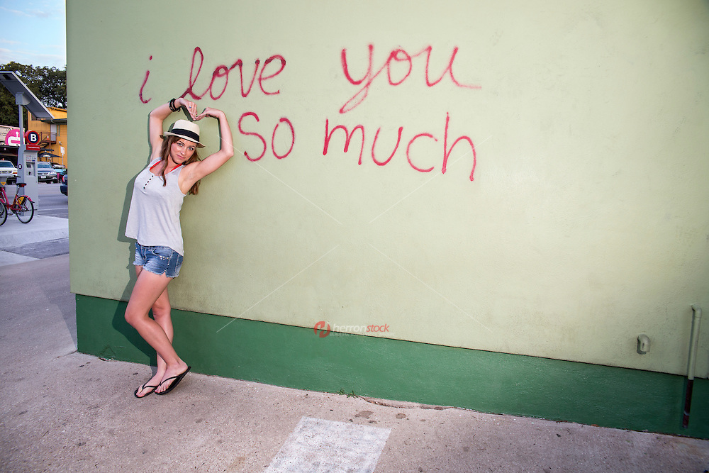 """I love you so much"" mural on South Congress is one of Austin's most visited areas and is a hot spot for tourists and Austinites alike."