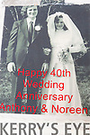 Anthony and Noreen O'Sullivan from Balloonagh Estate Tralee, celebrate their 40th Wedding Anniversary with family and friends at Stokers Lodge on Saturday