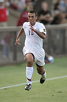 23 August 2007: Stanford Cardinal Thiago Sa Freire during Stanford's 1-0 loss against the Denver Pioneers at Maloney Field in Stanford, CA.