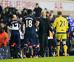 Newcastle's Steve McClaren celebrates at the final whistle<br /> <br /> Barclays Premier League- Tottenham Hotspur vs Newcastle United - White Hart Lane - England - 13th December 2015 - Picture David Klein/Sportimage