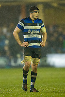 Bath Rugby's Josh Bayliss<br /> <br /> Photographer Bob Bradford/CameraSport<br /> <br /> Anglo-Welsh Cup Semi Final - Bath Rugby v  Northampton Saints - Friday 9th March 2018 - The Recreation Ground - Bath<br /> <br /> World Copyright &copy; 2018 CameraSport. All rights reserved. 43 Linden Ave. Countesthorpe. Leicester. England. LE8 5PG - Tel: +44 (0) 116 277 4147 - admin@camerasport.com - www.camerasport.com