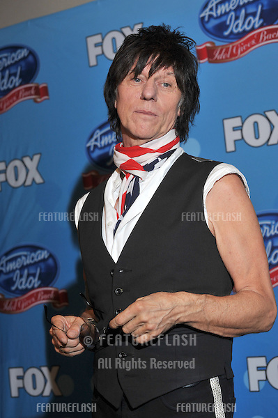 "Jeff Beck at American Idol's ""Idol Gives Back"" event at Pasadena Civic Auditorium..April 21, 2010  Los Angeles, CA.Picture: Paul Smith / Featureflash"