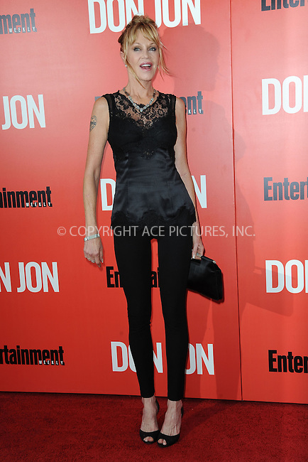 WWW.ACEPIXS.COM<br /> September 12, 2013...New York City<br /> <br /> Melanie Griffith attending 'Don Jon' New York Premiere at SVA Theater on September 12, 2013 in New York City.<br /> <br /> Please byline: Kristin Callahan/Ace Pictures<br /> <br /> Ace Pictures, Inc: ..tel: (212) 243 8787 or (646) 769 0430..e-mail: info@acepixs.com..web: http://www.acepixs.com
