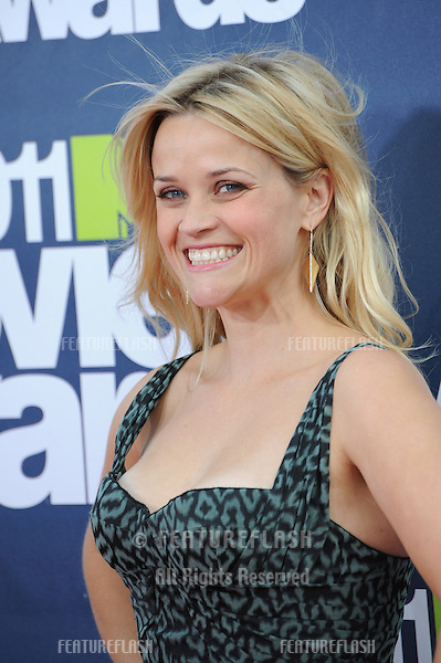 Reese Witherspoon arrives at the 2011 MTV Movie Awards at the Gibson Amphitheatre, Universal Studios, Hollywood..June 6, 2011  Los Angeles, CA.Picture: Paul Smith / Featureflash