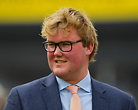 Trainer Martyn Mead  during Racing at Newbury Racecourse on 12th April 2019