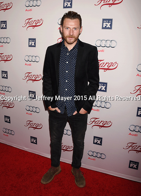 HOLLYWOOD, CA - OCTOBER 07: Actor Keir O'Donnell attends the premiere of FX's 'Fargo' Season 2 held at ArcLight Cinemas on October 7, 2015 in Hollywood, California.