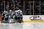 February 4, 2010:  USA women's national team prior to the Quest Tour Pre Olympic Exhibition match between Finland and Team USA women's ice hockey at the World Arena, Colorado Springs, Colorado.  Team USA defeats Finland 5-1.