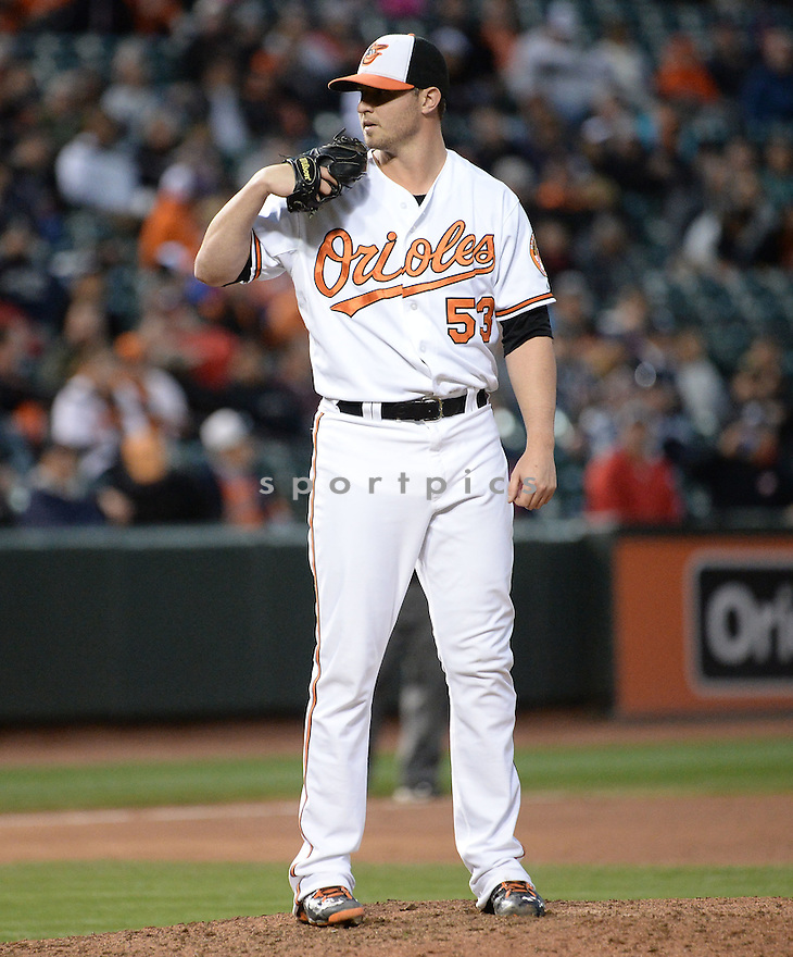 Baltimore Orioles Zach Britton (53) during a game against the New York Yankees on October 4, 2015 at Orioles Park in Baltimore, MD. The Orioles beat the Yankees 9-4.