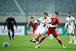 Sydney Wanderers Defender Haritz Borda (L) fights for the ball with Shanghai FC Forward Wu Lei (R) during the AFC Champions League 2017 Group F match between Shanghai SIPG FC (CHN) vs Western Sydney Wanderers (AUS) at the Shanghai Stadium on 28 February 2017 in Shanghai, China. Photo by Marcio Rodrigo Machado / Power Sport Images