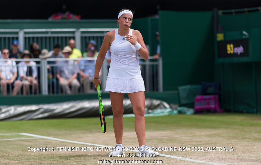 JELENA OSTAPENKO (LAT)<br /> <br /> TENNIS - THE CHAMPIONSHIPS - WIMBLEDON- ALL ENGLAND LAWN TENNIS AND CROQUET CLUB - ATP - WTA -ITF - WIMBLEDON-SW19, LONDON, GREAT  BRITAIN- 2017  <br /> <br /> <br /> &copy; TENNIS PHOTO NETWORK