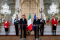 Xi Jinping and Sergio Mattarella<br /> Rome March 22nd 2019. The President of the ChineseDemocratic Republic visits the President of the Italian Republic at Quirinale.<br /> photo di Paolo Giandotti/Presidenza della Repubblica/Inside