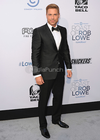 LOS ANGELES - AUGUST 27:  Rob Lowe at the Comedy Central Roast of Rob Lowe at Sony Studios on August 27, 2016 in Los Angeles, California.MPi99 / MediaPunch