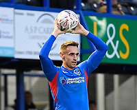 Brandon Haunstrup of Portsmouth during Portsmouth vs Altrincham, Emirates FA Cup Football at Fratton Park on 30th November 2019