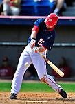 14 March 2010: Washington Nationals' infielder Adam Kennedy in action during a Spring Training game against the St. Louis Cardinals at Space Coast Stadium in Viera, Florida. The Cardinals defeated the Nationals 7-3 in Grapefruit League action. Mandatory Credit: Ed Wolfstein Photo