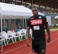 Duvan Zapata durante il  ritiro precampionato del SSC Napoli a Dimaro<br />  05 Luglio  2017