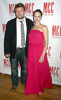 June 14 , 2012 Michael Chernus and Tammy Blanchard attend the MCC Theater's benefit reading of The Heart Of The Matter afterparty  at the Ramscale in New York City. &copy; RW/MediaPunch Inc. NORTEPHOTO.COM<br />