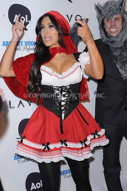WWW.ACEPIXS.COM . . . . . .October 31, 2010...New York City... Kim Kardashian attends Heidi Klum's 2010 Halloween Party at Lavo on October 31, 2010 in New York City...Please byline: KRISTIN CALLAHAN - ACEPIXS.COM.. . . . . . ..Ace Pictures, Inc: ..tel: (212) 243 8787 or (646) 769 0430..e-mail: info@acepixs.com..web: http://www.acepixs.com .