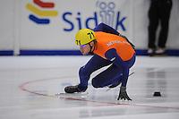 SHORTTRACK: HEERENVEEN: Thialf, Invitation Cup, 01-021011, Daan Breeuwsma (71) , ©foto: Martin de Jong