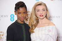 Letitia Wright and Natalie Dormer<br /> at the photocall for BAFTA Film Awards 2018 nominations announcement, London<br /> <br /> <br /> &copy;Ash Knotek  D3367  09/01/2018
