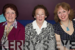 Having a great night out at the Causeway Ceoltas Annual Social held in The Ballyroe Heights Hotel on Saturday night were l/r Mary Casey, Joan O'Hanlon and Rochi?ne O'Hanlon.................................................................................................................................................................................................................................................................................. ............
