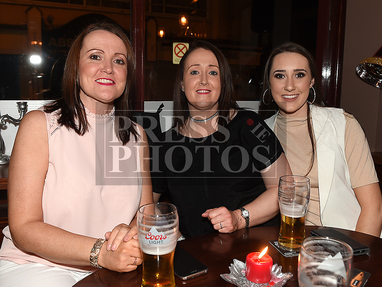 Mary and Aoife McEntee and Barbara Thornton enjoying the New year weekend in Bitter & Twisted. Photo:Colin Bell/pressphotos.ie