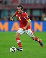 Fussball International  WM Qualifikation 2014   11.09.2012 Oesterreich - Deutschland Christian FUCHS (Oesterreich)