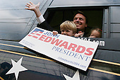 Columbus, South Carolina.USA.February 2, 2004..Senator John Edwards speaks at Allen University in Columbus.