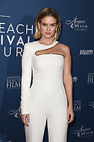 Alice Eve<br /> arriving for the Newport Beach Film Festival UK Honours 2020, London.<br /> <br /> ©Ash Knotek  D3551 29/01/2020