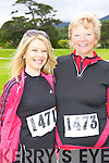 Helena Halpin and Eileen Broderick Listowel at the Killarney Run Maxi marathon in Killarney on Saturday..