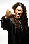 Testament; Chuck Billy: Studio Session In New York,.Photo Credit: Eddie Malluk/Atlasicons.com
