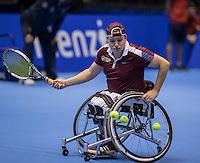 Rotterdam, Netherlands, December 13, 2016, Topsportcentrum, Lotto NK Tennis,  Wheelchair, Mitchel Graauw (NED)<br /> Photo: Tennisimages/Henk Koster