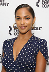 Megalyn Echikunwoke attends the photo call for the Roundabout Theatre Company Production of 'Apologia'  on September 5, 2018 at the Roundabout Rehearsal Studios in New York City.