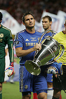 Frank Lampard (Chelsea) con la coppa Champions League