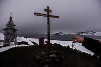 ANTARCTICA - NOVEMBER 27: The Russian Orthodox Church of the Holy Trinity on the Bellingshausen Russian Antarctica base the 27th of November, 2015 near Villa Las Estrellas, in the Fildes Peninsula on King George Island, Antarctica. <br /> <br /> Daniel Berehulak for The New York Times