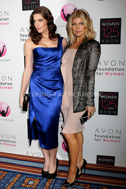 WWW.ACEPIXS.COM . . . . .  ....November 2 2011, New York City....Ashley Greene and Fergie at the celebration of Avon's 125th Anniversary at the Avon Foundation Global Voices for Change Gala at Marriott Marquis Times Square on November 2, 2011 in New York City.....Please byline: NANCY RIVERA- ACEPIXS.COM.... *** ***..Ace Pictures, Inc:  ..Tel: 646 769 0430..e-mail: info@acepixs.com..web: http://www.acepixs.com