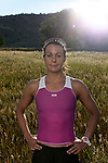 BOULDER, CO - AUGUST 13:  Professional Triathlete Rachel Joyce of England poses for a portrait on August 13, 2013 in Boulder, Colorado. (Photo by Donald Miralle for LAVA Magazine)  *** Local Caption ***