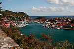 This island is sixty percent French and forty percent Dutch. Philipsburg on the Dutch side has duty-free shopping. Marigot on the French side has French food and Caribbean ingredients. It's a great place to park a Windstar ship; shop, eat, eat, shop. If I were in charge I'd put in a high-speed monorail connecting Philipsburg and Marigot.