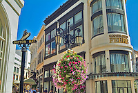 Two Rodeo, Via Rodeo, Gateway to Rodeo Drive, Beverly Hills, CA, European-styled, shopping, complex, resembles a movie set, Los Angeles, CA,