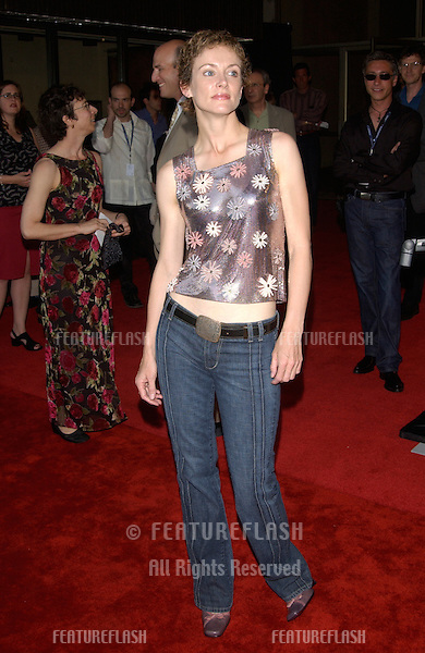 Actress LESLIE HOPE at the premiere of The Good Girl, the closing night movie of the 2002 IFP/West-Los Angeles Film Festival..29JUN2002.  © Paul Smith / Featureflash