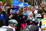 Huge crowds turn out during Stage 3 of the Tour de Yorkshire 2017 running 194.5km from Bradford/Fox Valley to Sheffield, England. 30th April 2017. <br /> Picture: ASO/P.Ballet | Cyclefile<br /> <br /> <br /> All photos usage must carry mandatory copyright credit (&copy; Cyclefile | ASO/P.Ballet)