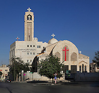 Al Bashara, Coptic Orthodox Church in Amman, Jordan. Picture by Manuel Cohen