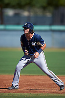Milwaukee Brewers Clint Coulter (11) during an instructional league game against the Los Angeles Dodgers on October 13, 2015 at Cameblack Ranch in Glendale, Arizona.  (Mike Janes/Four Seam Images)